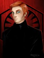 Commission - General Hux by Ravenemore