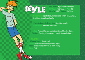 Reference Sheet - Kyle by hrfarrington