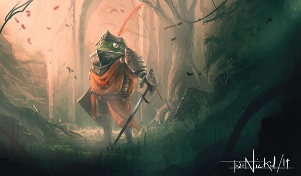 FROG KNIGHT by thatnickid