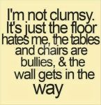I'm not clumsy by MikeysGurl