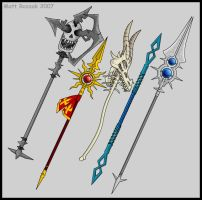 Spears and polearms by KupoGames