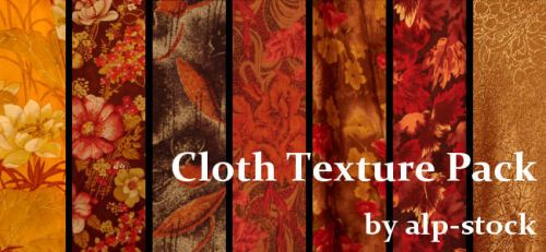 Cloth Textures Pack 1 by ALP-Stock