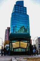 Astor Place by peterjdejesus