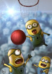 despicable me minions fanart by jibrinarts