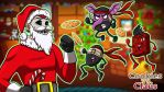 Cookies vs H20Delirious Claus by LordMaru4U