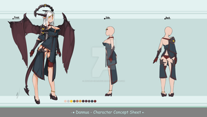 Concept Sheet - Danua by Asgard-Chronicles