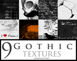 9 Gothic  Textures by Lamb by lambwaffle