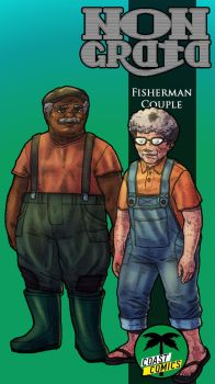 Fisherman Couple by WolfMagnum
