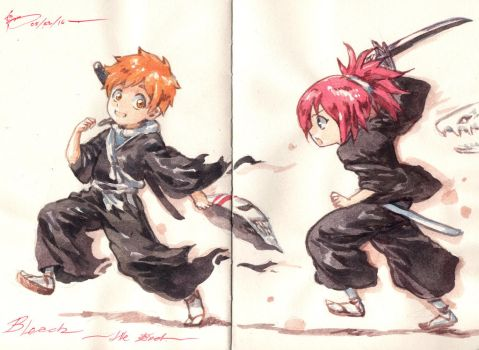 Bleach - The End by Nick-Ian