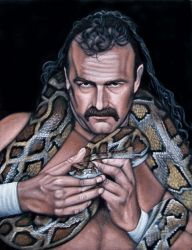 Jake The Snake Roberts by BruceWhite