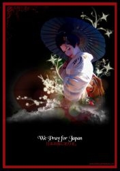 we pray for Japan by posters0809