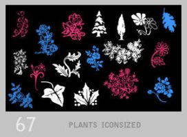 011: tiny floral + plant by Lexana