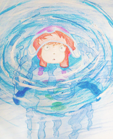 Ponyo Color by EmmersDrawberry