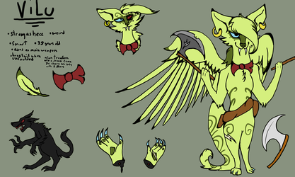 Vilu- Refsheet yay by Crowfeather6789