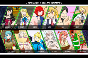 2017 summary of art by master417