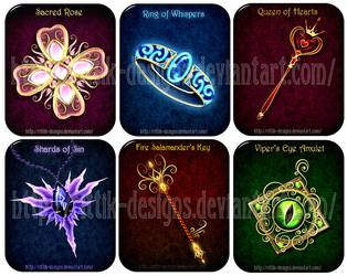Magic items adopts 11 (CLOSED) by Rittik-Designs