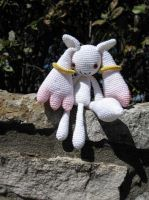 Amigurumi Kyubey by periwinkleimp