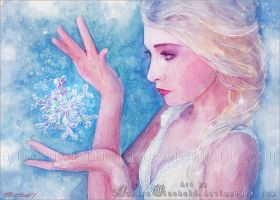 It's time to see what I can do - Elsa (Frozen) by RoryonaRainbow