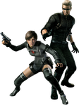 Albert and Rebecca Wesker Mode PNG by AlbertWeskerG