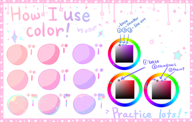 Tutorial - How I use color by ViPOP