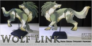 Wolf Link by StrayaObscura