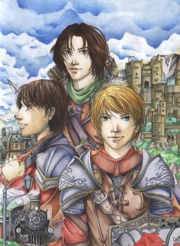 Kings of Narnia - Two Worlds by HotaruYagami