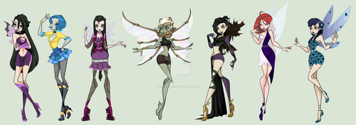 My Fairies by MaliceInTheAbyss