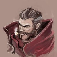 League of Legends Graves by WindHydra