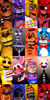 The Finale | Five Nights at Freddy's Poster by witheredfnaf