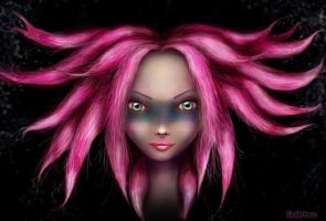 Dreads Girl by AngeLee-Loo
