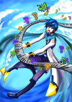 [VOCALOID] Kaito V3 - Let me sing for you by HunterK