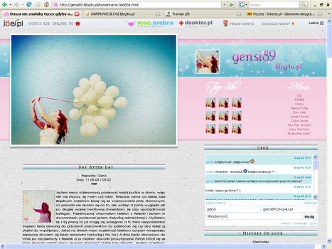 pink heaven layout by gensi89