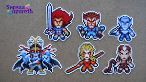 Thundercats Group Bead Sprite by SerenaAzureth
