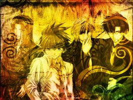 Saiyuki Boys by HeavenlyCondemned