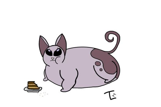 That's one fat Mr. Kat by TLH-Inflator