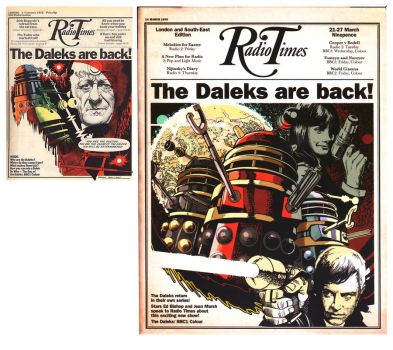 DR WHO Radio Times by BrianAW