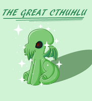The Great Cthulhu by Nightshade-warroir