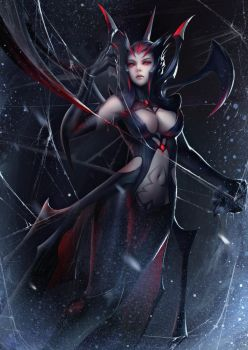 The Spider Queen by yueyuecg