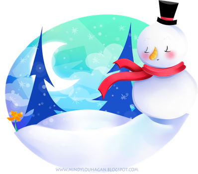 Bluesnowman by SuzyQ2pie