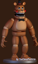 Nightmare Toy Freddy by TheClassyPlushtrap
