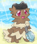 Beryl the Zigzagoon by Giniqua