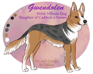 Gwendolen Reference by Takkaia