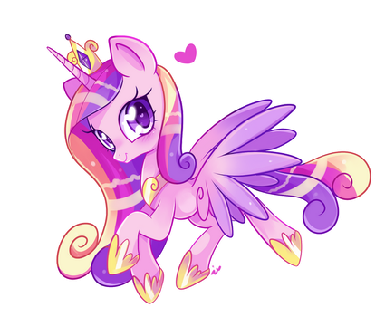 Princess Cadence by Ipun