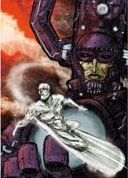 GALACTUS ,SILVER SURFER by Ultrafpc