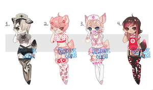 Dainty Nurse Collab- Set Price- {CLOSED} by Pajuxi-Adopts