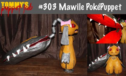 Mawile Puppet (tutorial available) by TommyGK