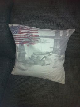 t-shirt pillow by mikeydoy