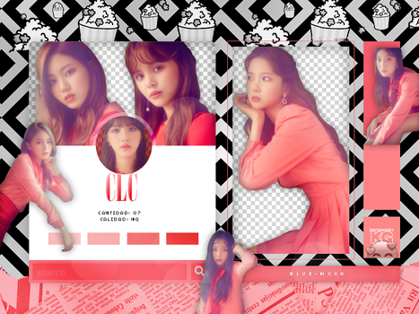 CLC | FREE'SM #2 PINK | PACK PNG by KoreanGallery