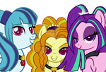 .: Ponified Dazzlings :. by Camaro--Princess