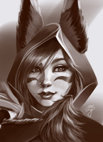 Xayah - League of Legends by BannanaPower